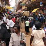Kampala market - beautiful people everywhere