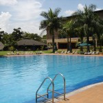 Speke Resort - the possibly poshest hotel in Kampala