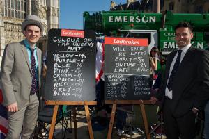 Ladbrokes Wettquoten im April 2011 zur königlichen Hochzeit
